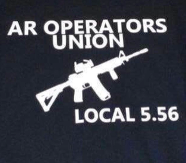 AR Operators Union shirt