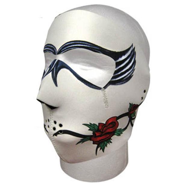 Dark Rose Neoprene Face Mask