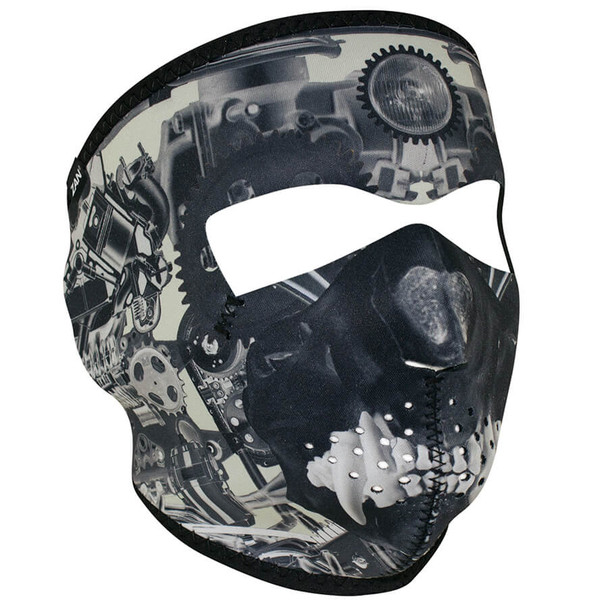 Sprocket Skull Neoprene Face Mask