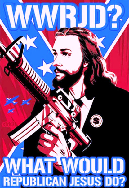 What Would Republican Jesus Do Shirt