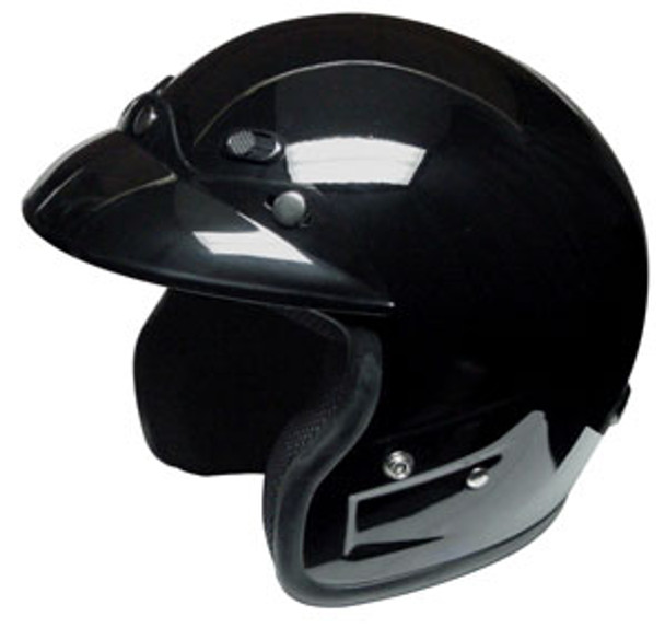 DOT/Race 3/4 Snell Motorcycle Helmet