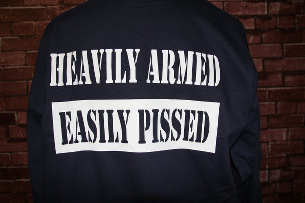 Heavily Armed - Easily Pissed T-Shirt