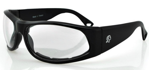 California Sunglasses For Bikers - Clear