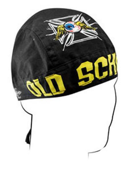 Skull Cap - Old School Emroidered Doo Rag Flydanna