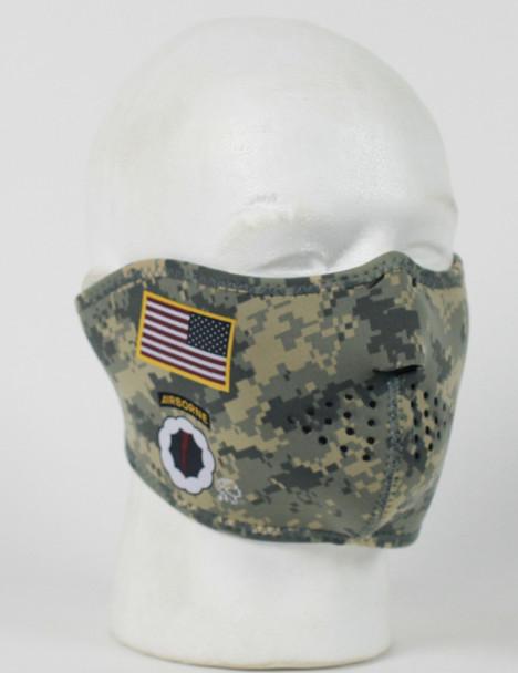 Army Combat Uniform Neoprene Half Face Mask