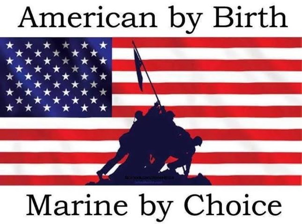 American by birth Marine by Choice shirt