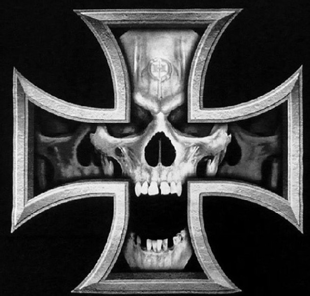 Skull Iron Cross Shirt