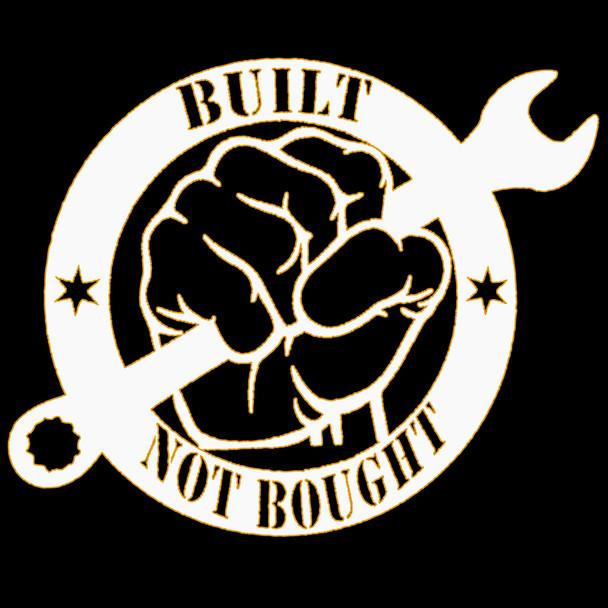 built not bought shirt