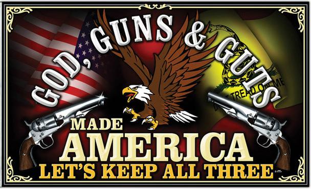 God, Guns & Guts Shirt