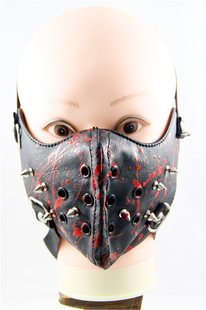Roadkill Leather Half Face Mask