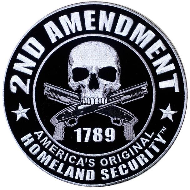 2nd Amendment Homeland Security Patch