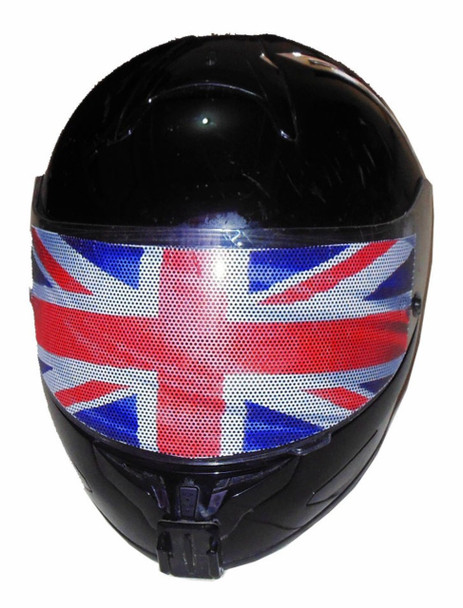 Union Jack Motorcycle Helmet Visors Sticker