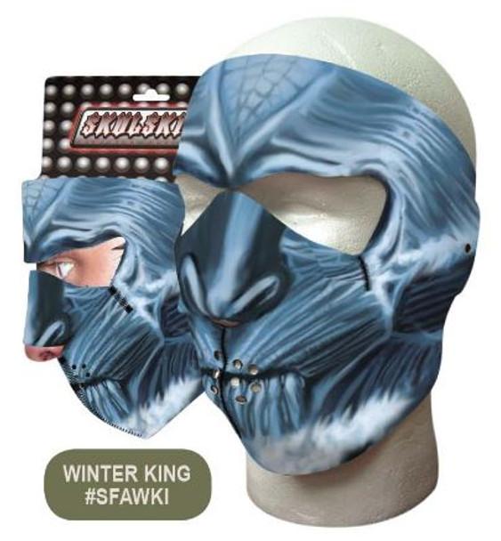 White Walker Neoprene Face Mask