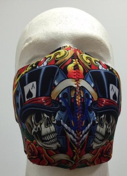 Vegas Half Neoprene Face Mask