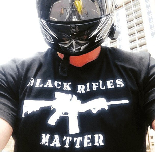 BLACK RIFLES MATTER T-SHIRT