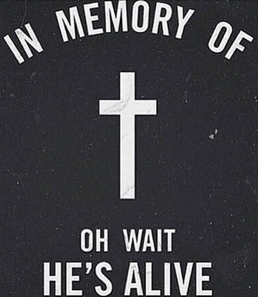 IN MEMORY OF  OH WAIT HE'S ALIVE T-SHIRT