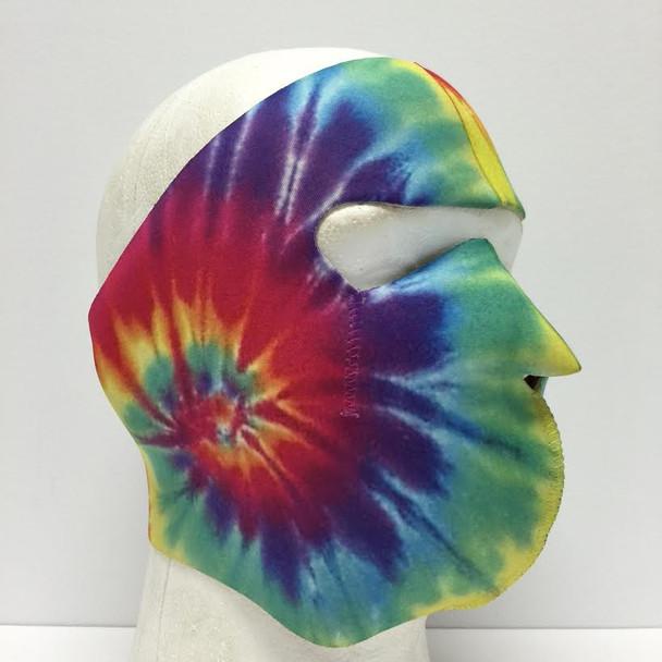 Tie Dye Neoprene Face Mask