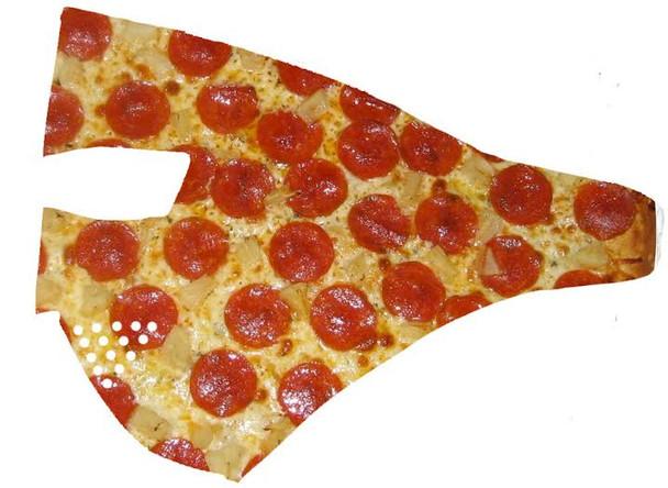 Pizza Neoprene Face Mask