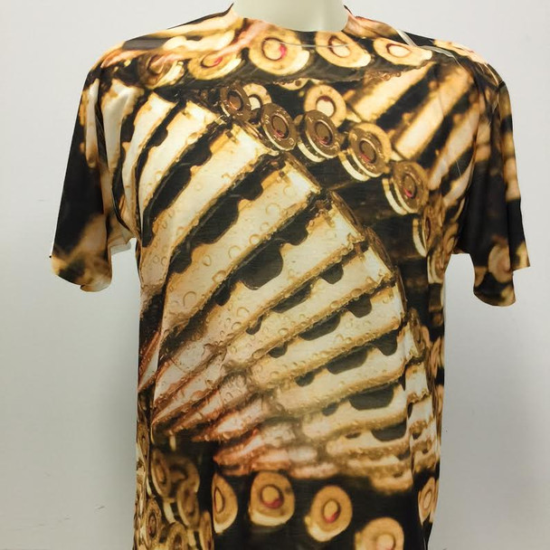 All Over Sublimation Bullets T-Shirt