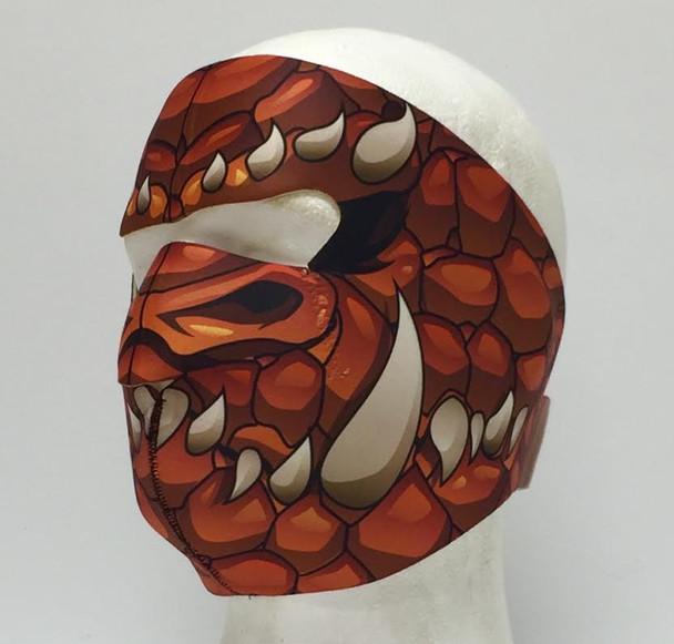 Red Dragon Neoprene Face Mask