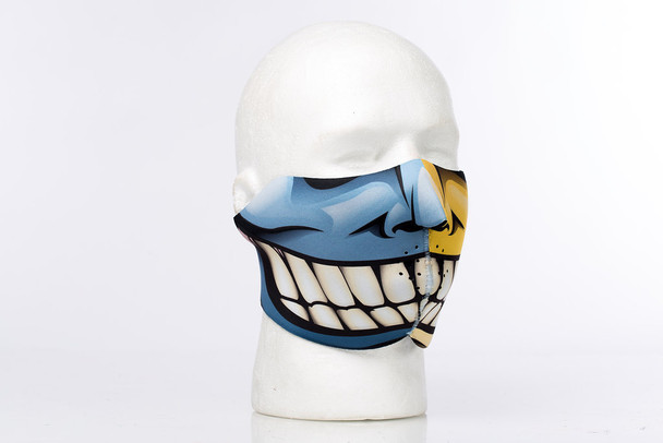 Two Faces Neoprene Half Face Mask