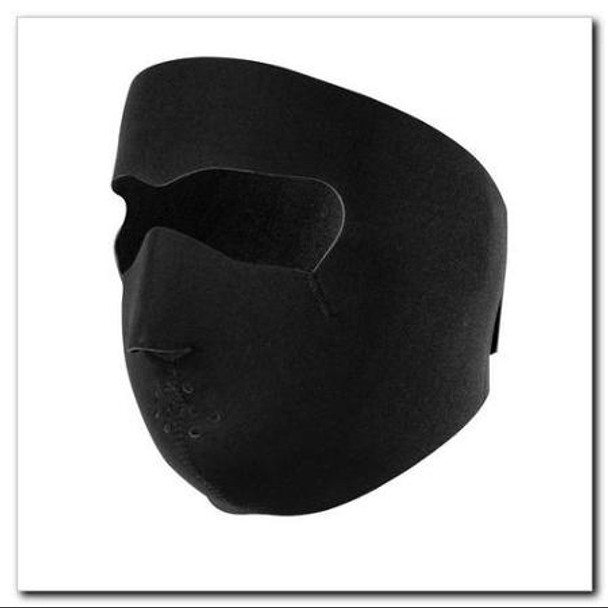 Full Black Neoprene Face Mask