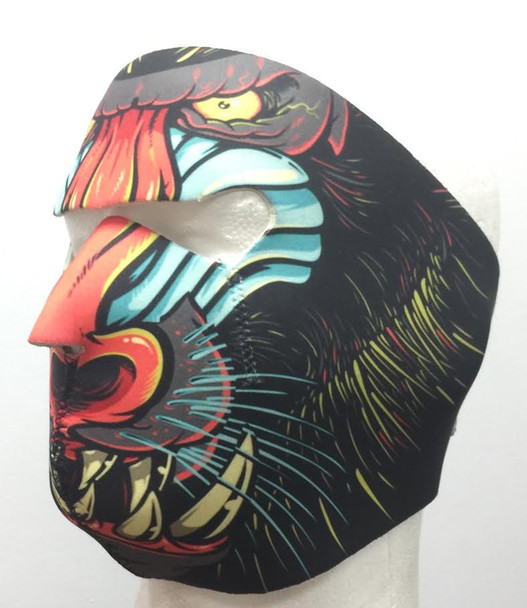 Mandrill Neoprene Face Mask