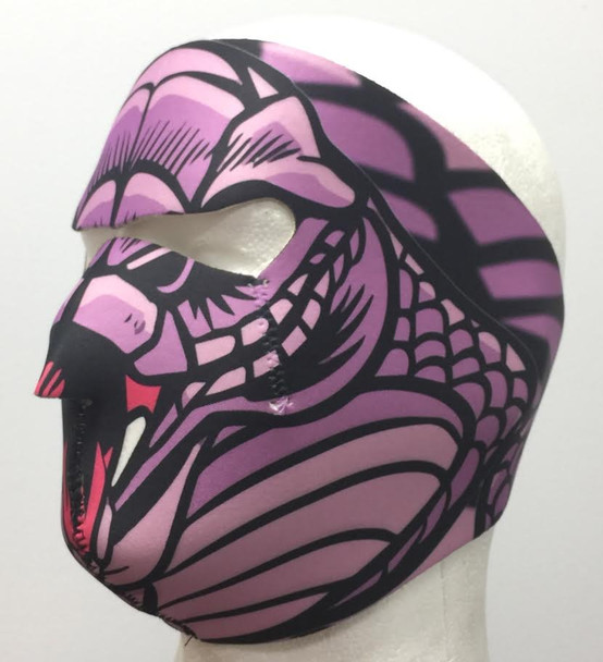 Snake Lady Neoprene Face Mask