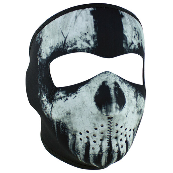 Skull Ghost Neoprene Face Mask