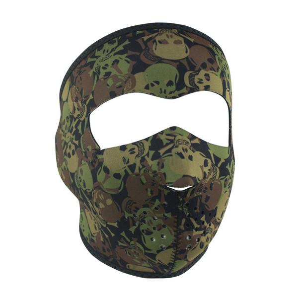 Camo Skull Face Mask
