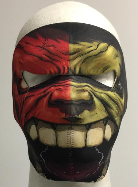 Compound Hulk - Face Biker Mask