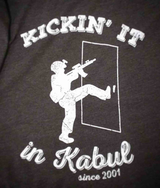 Kickin' it in Kabul Shirt