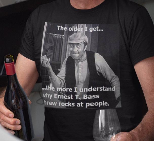 Andy Griffith show Shirt Ernest T. Bass shirt