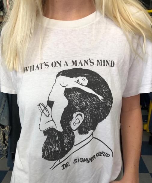 What's on a Man's Mind Dr. Sigmund Freud Shirt
