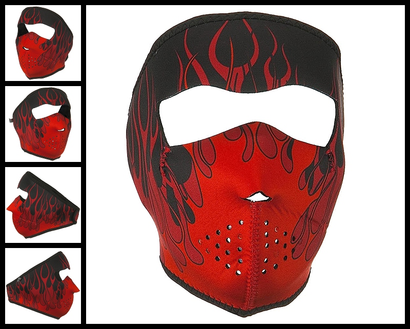 red-blaze-neoprene-face-mask-front