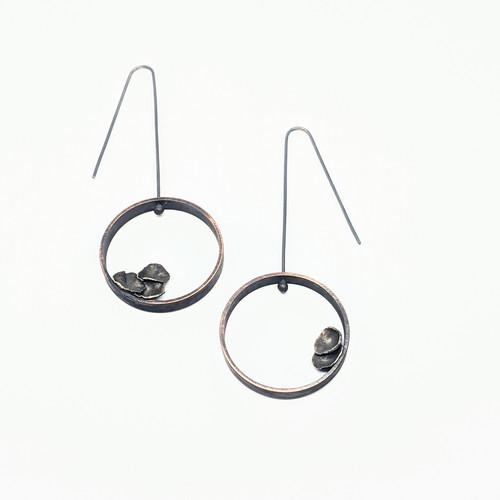 Pipe and Fungi Earrings NM34