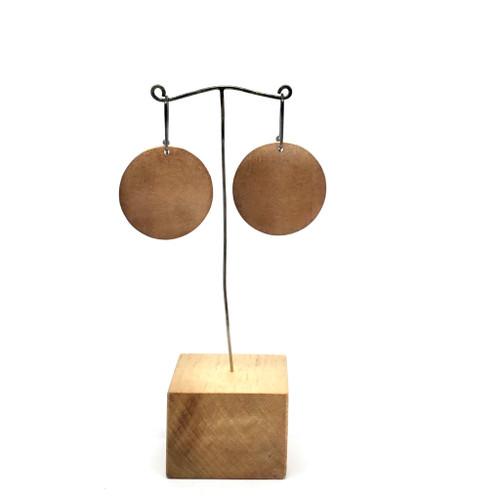 2 Sided Shield Earrings