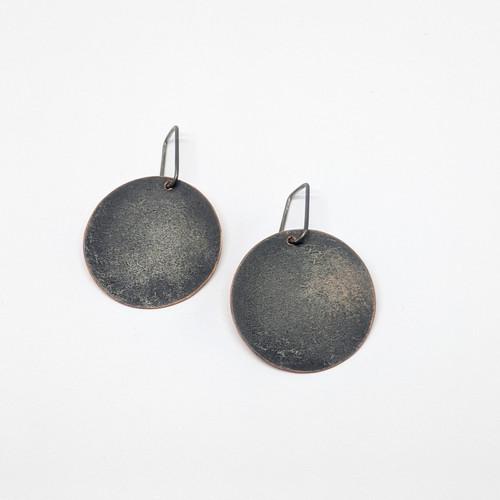 Reverse Shield Earrings