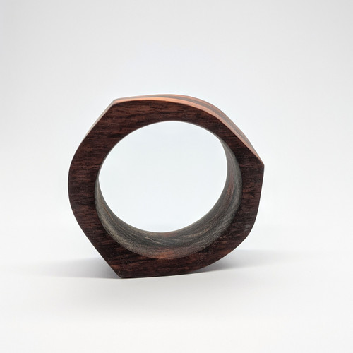 3 Band Timber bangle