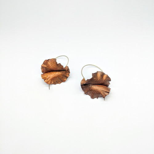 Frilly Fungi Earrings NM53