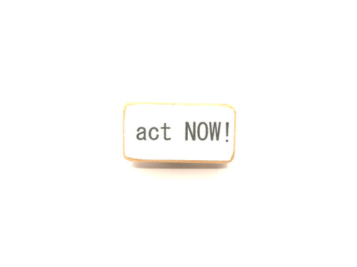 Act Now Magnet