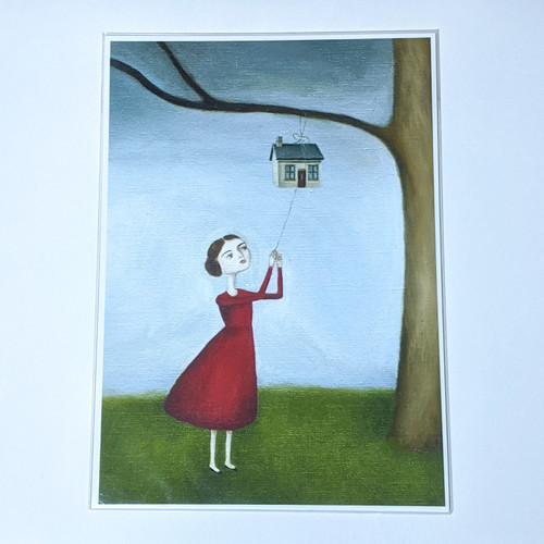 Tree House Archival Print A4