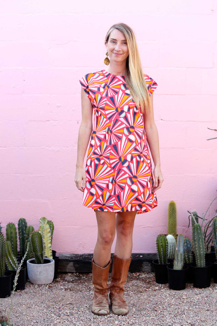 Firecracker A Line Dress