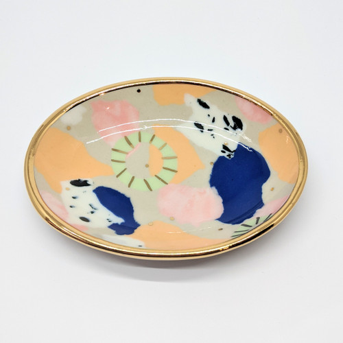 Small Porcelain Oval Dish 1