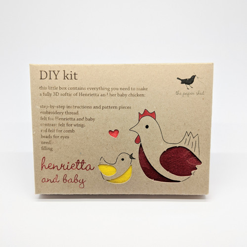 Henrietta & Baby DIY Sewing Kit