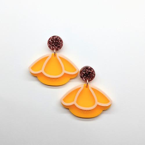 Buttercup Acrylic Drop Earrings