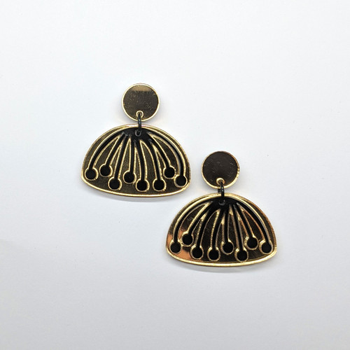 Umbel Acrylic Drop Earrings #1