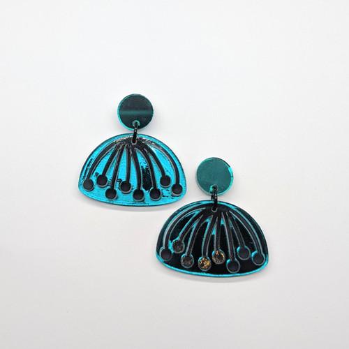 Umbel Acrylic Drop earrings #2