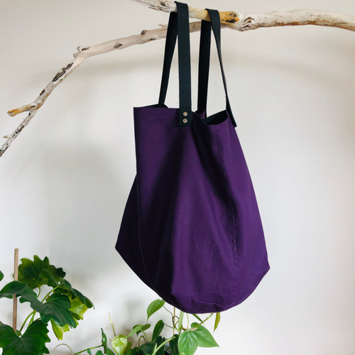Hemp Fabric Large Tote Bag