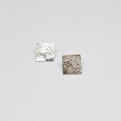 Granulated Square Studs 1